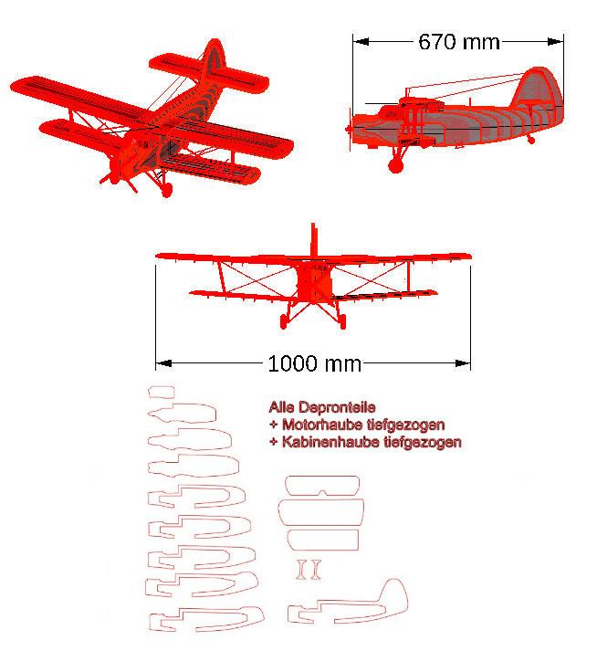 Antonov AN2 Depron von Causemann